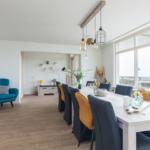 Appartement Noordijk aan zee keuken